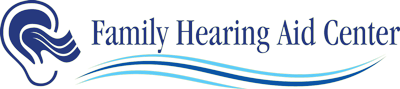 logo for family hearing aid center