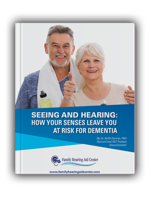 seeing and hearing dementia book